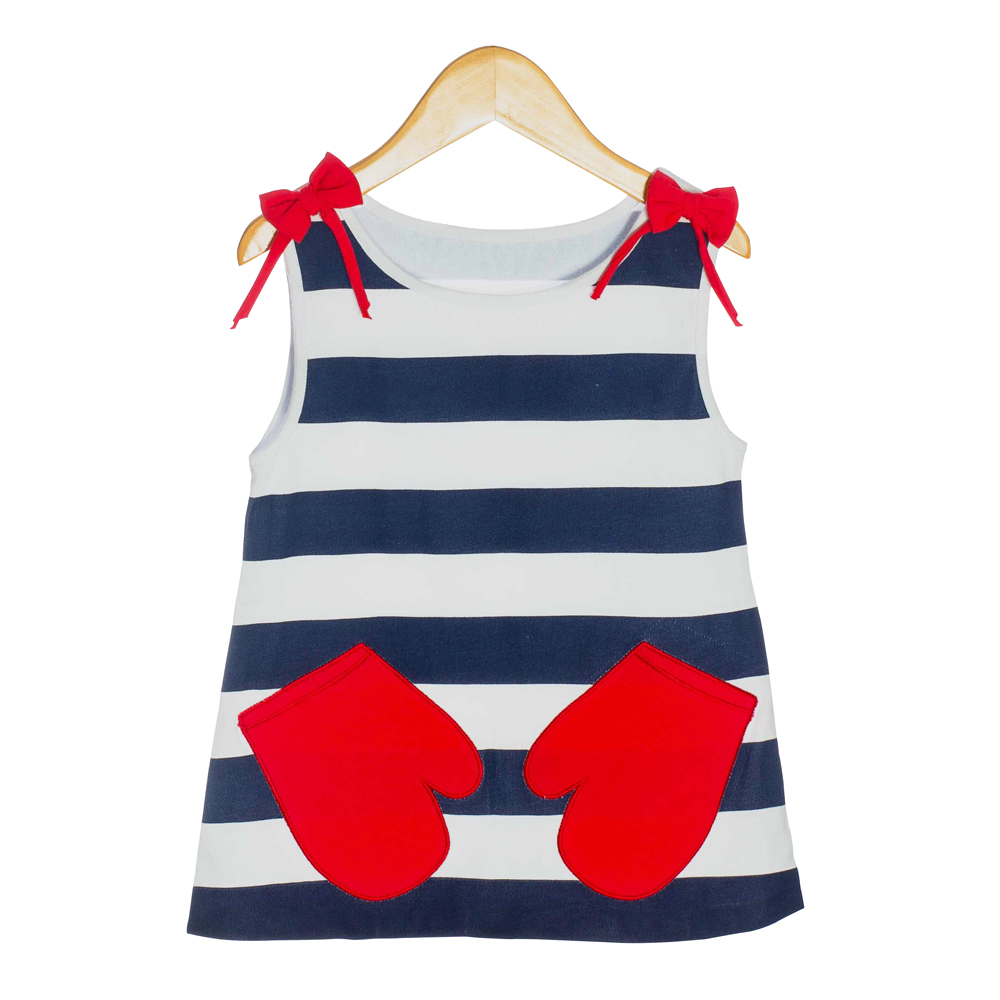 Nautical Organic Baby Dress - OMG