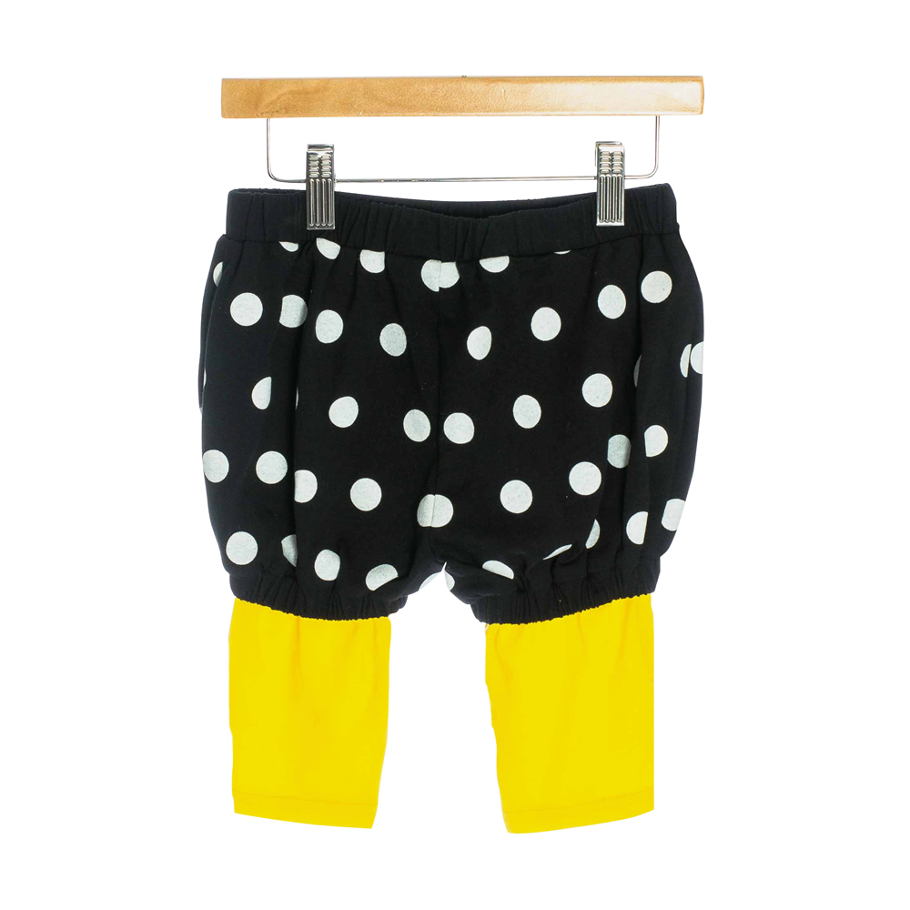 OMG Children's Balloon Pants | Polka Dots + Yellow
