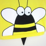 Yellow Organic Baby T-shirt with Bumble Bee - OMG