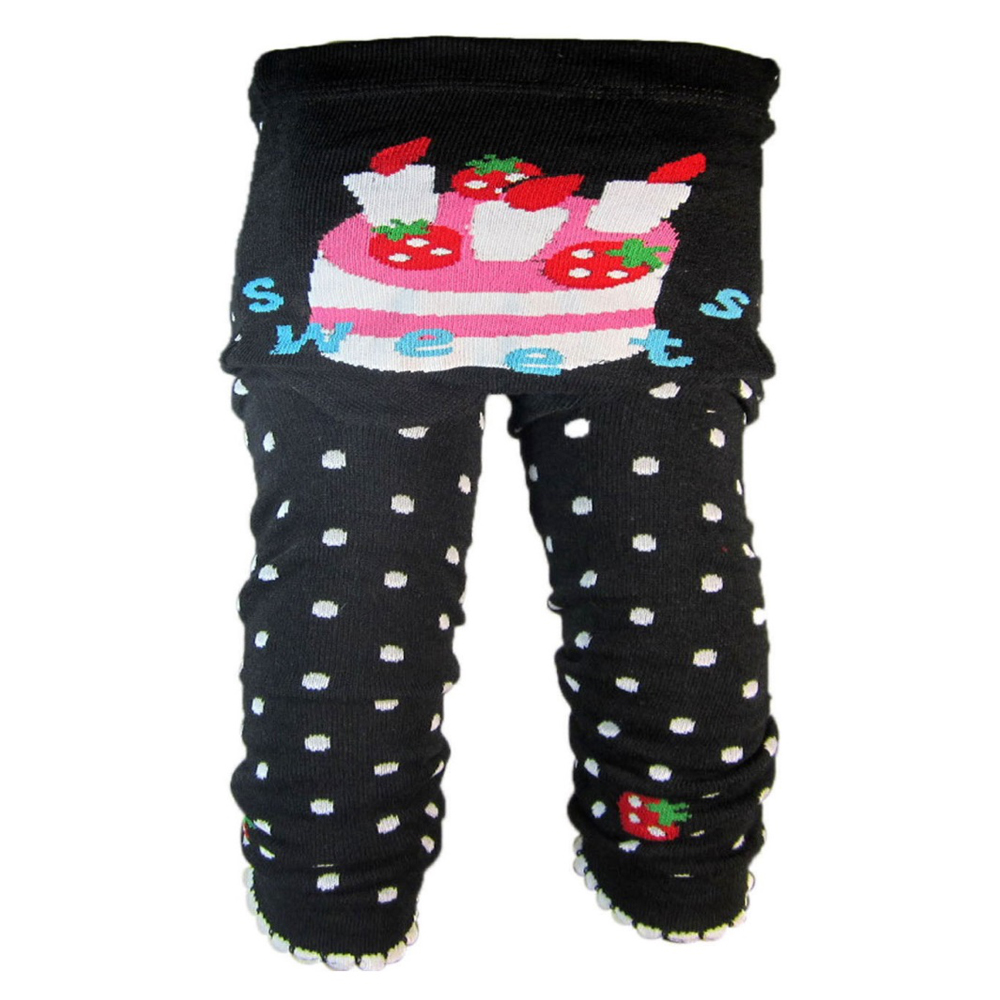 "OMG Baby Knit Leggings | ""Sweets"" Cake"