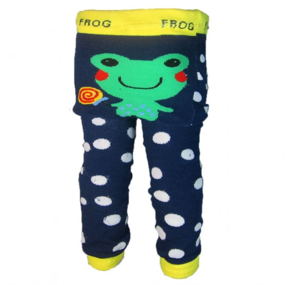 OMG Baby Knit Leggings | Frog
