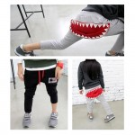 OMG Big Mouth Shark Pants | Gray
